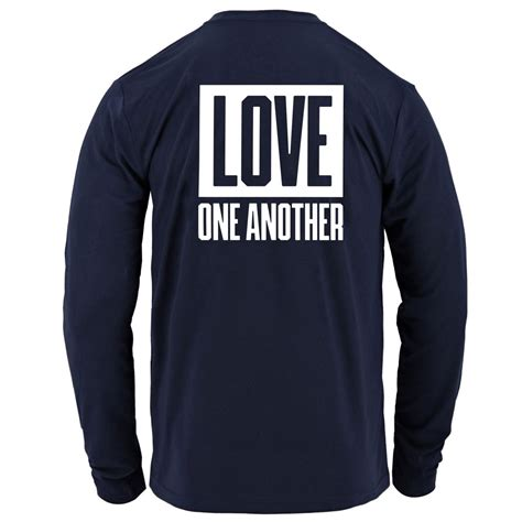 We Are One, Love One Another BYU Football Long Sleeve T-Shirt