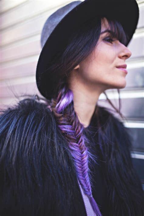 la coloration phare de  les cheveux prune obsigen