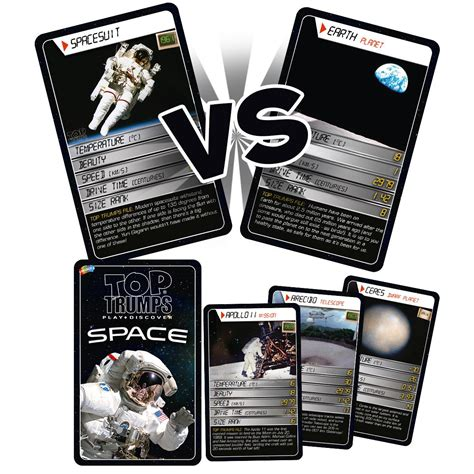 space card trumps game educational games planets nasa