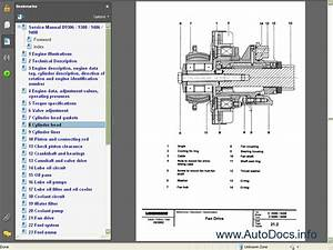 Liebherr Diesel Engines D9306  9308  D9406  9408 Service