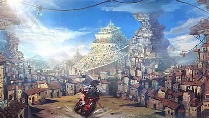 Kill Matoi Town Motorcycle Ryuuko Anime Screenshot