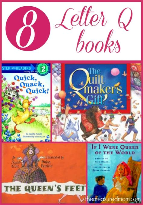 letter q books for preschoolers the measured 572 | letter q book list
