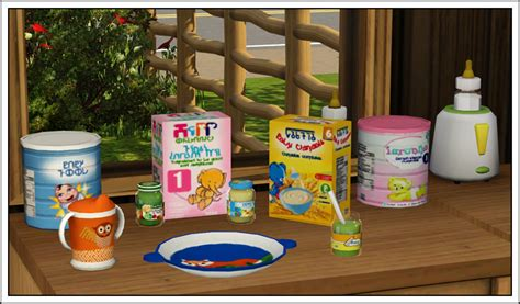 sims 3 cuisine around the sims 2 objects nursey cupcake