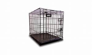 aspca folding metal pet crate with removable tray groupon With aspca dog cage
