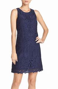Lace Shift Dresses On Trend For Spring Wedding Guest Season!