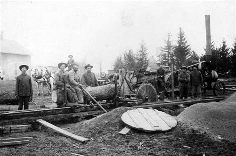 Old Threshing Pictures