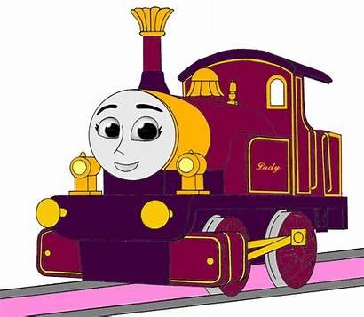 Thomas Lady Friends Engine Tank Cgi Angry