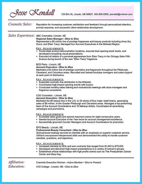 beautiful beauty advisor resume  brings