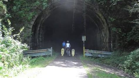 bridgehuntercom allegheny river trail kennerdell tunnel