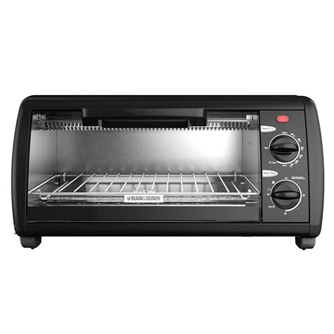 Black Decker Toaster Oven by Black Decker 4 Slice Electric Toaster Oven Baking