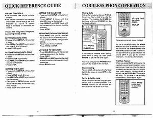 Page 8 Of Vtech Cordless Telephone 900i User Guide