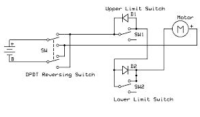 Hoist Limit Switch Wiring Diagram Gear by Dc Motor Reversing Circuit Limit Switch Search