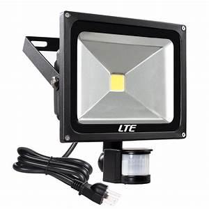 Lte 30w Motion Sensor Flood Lights Outdoor Security