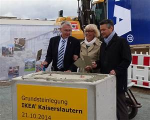 öffnungszeiten Ikea Kaiserslautern : grundsteinlegung f r ikea kaiserslautern stadt kaiserslautern ~ Watch28wear.com Haus und Dekorationen