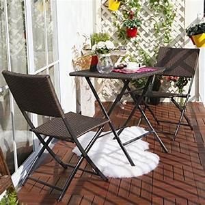 Gartentisch Und Stühle Set : terrasse balkonm bel faltbare bistro m bel sets holz harz und rattan gartentisch set 3 teilig ~ Bigdaddyawards.com Haus und Dekorationen