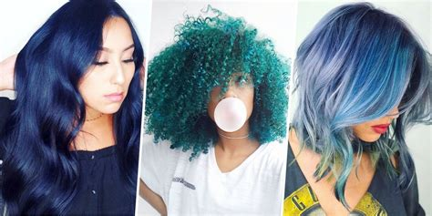 15 Best Blue Hairstyle Ideas Pretty And Cool Blue Hair