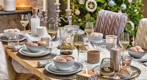 deco table noel  idees de decorations pour