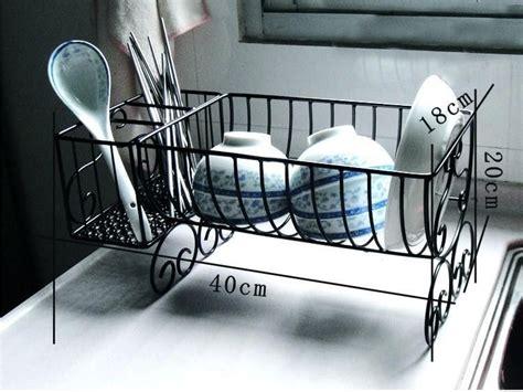 year dishes rack iron drain rack french dish rack wankuai kitchen utensils storage
