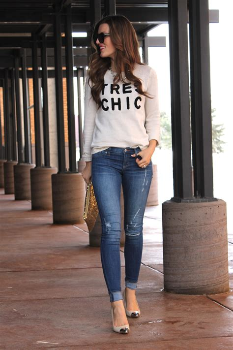 casual look with tres chic casual