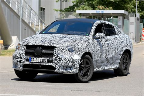 2019 Mercedes Gle Coupe by New 2019 Mercedes Gle Coupe Spied On Test Auto Express