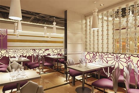 Exotic Restaurant With High-end Decor 3d Model Max Cut Blinds Vertical Installation Cost Transition Roller Hanging Curtains Over Horizontal Spokane Bird Automatic 2 Inch Faux Mini