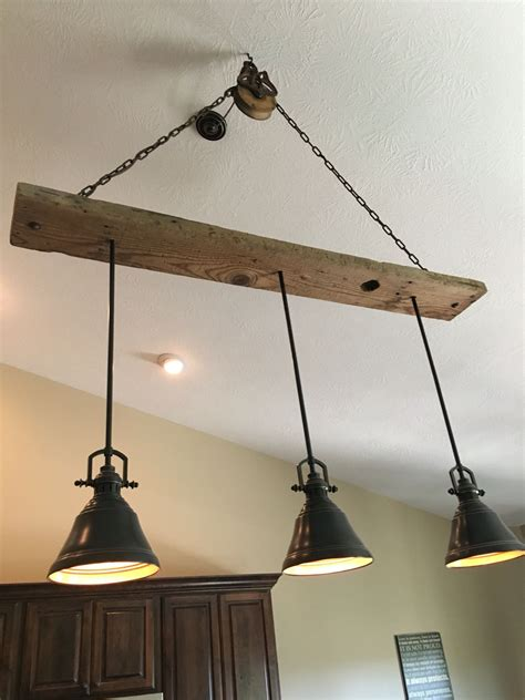 lowes lighting kitchen ceiling barn wood pulley vaulted ceiling light fixture pendants 7276