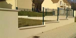 Poser Un Grillage Rigide : cloture yvelines 78 et essonne 91 cloture en panneau ~ Melissatoandfro.com Idées de Décoration