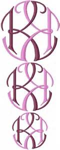 cool  letter monogram design  anna bove embroidery monogram design