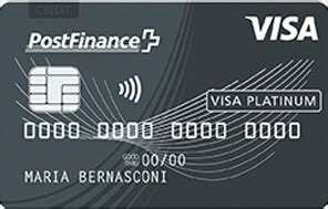 postfinance visa platinum card moneylandch