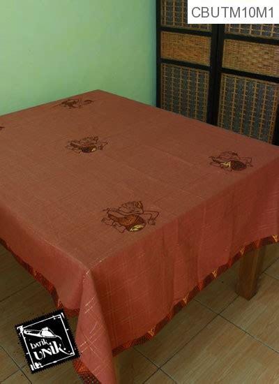 taplak meja makan motif semar batik taplak meja batik