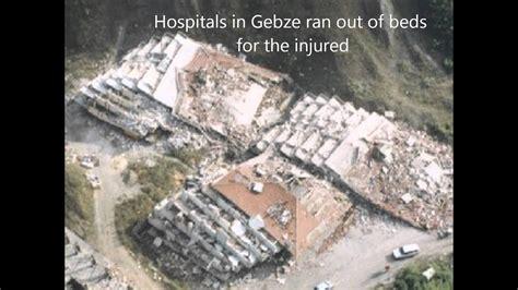 izmit earthquake effects youtube