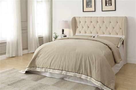 26474 beige tufted bed murrieta beige fabric tufted headboard only las vegas