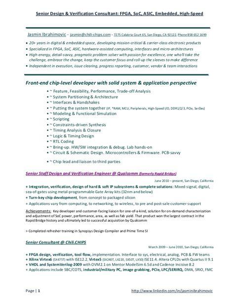 Fpga Embedded Resume soc fpga asic embedded