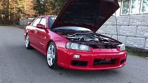 Rhd Japanese Imported 1999 Nissan Skyline R34 Gtt R34