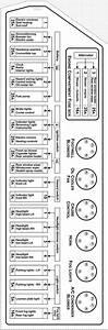 Fuse Box Label For 1988 Carrera