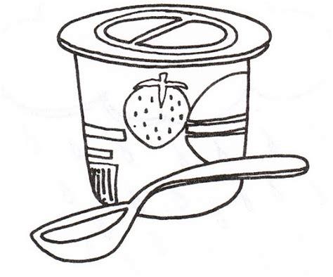Yogurt Coloring Page - Eskayalitim