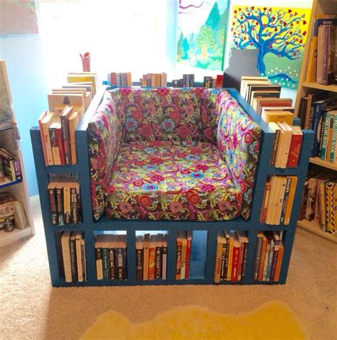 bookshelf chair  steps  pictures