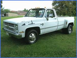 1987 87 Chevrolet Chevy C30 1 One Ton Two Wheel Drive