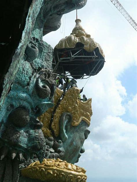 patung garuda wisnu kencana  bali  selesai