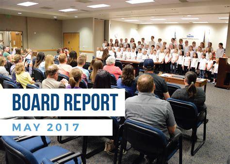 board report may 2017