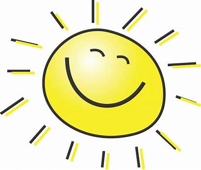 Sun Smiling Clipart Happy Summer Illustration Sunshine