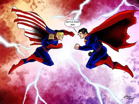 superman  homelander comics amino
