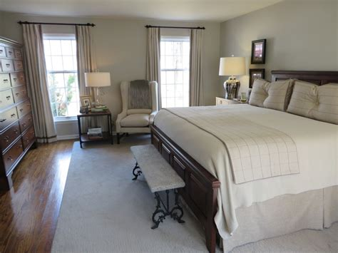 Bedroom Decor Transitional by Drapery Design Sophisticated Neutrals In A Transitional