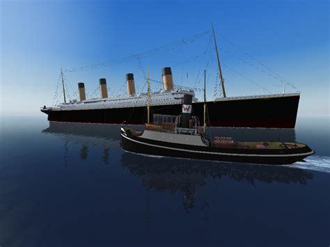 Tugboat Simulator Game by Image Ship Simulator Titanic With A Tugboat Jpg
