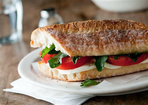 caprese sandwich caprese sandwiches