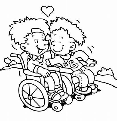 Coloring Pages Disabilities Source Jobs