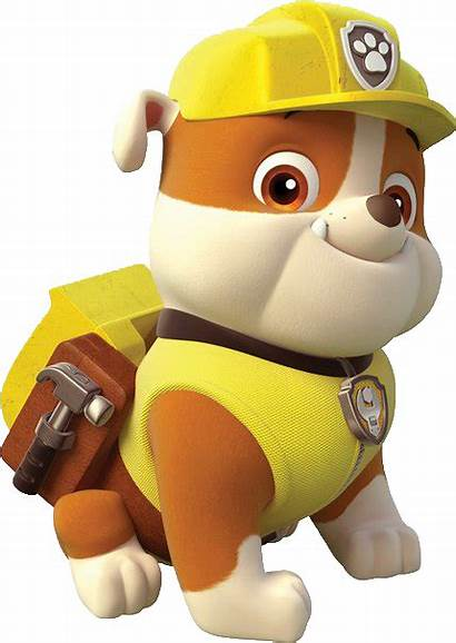 Paw Patrol Rubble Canina Patrulha Characters Cartoon