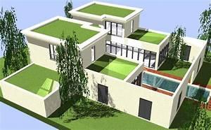 Architektur Haus Zeichnen : luxusvilla in berlin traumhaus moderner villen architektur ~ Markanthonyermac.com Haus und Dekorationen