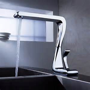 single kitchen sink faucet contemporary solid brass kitchen tap chrome finish n2096 180 findtaps shopping