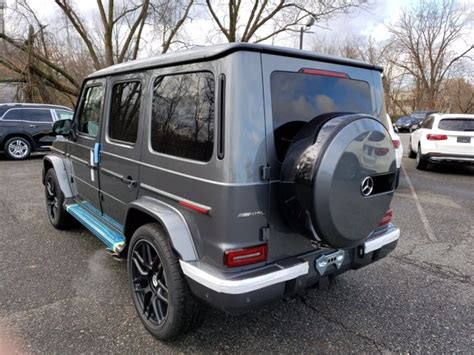 With 577 handcrafted horses, the amg g 63 is a legend raised to a higher power for a new era. New 2021 Mercedes-Benz AMG G 63 4MATIC SUV | Selenite Grey ...